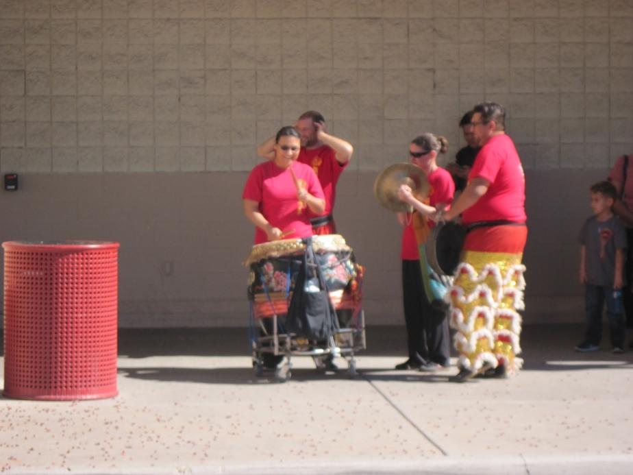Lion Dance Drummer