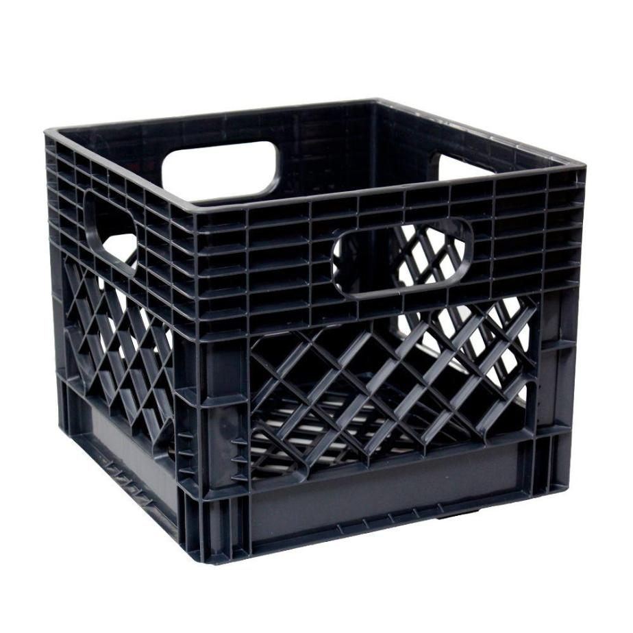 10 creative uses for a milk crate
