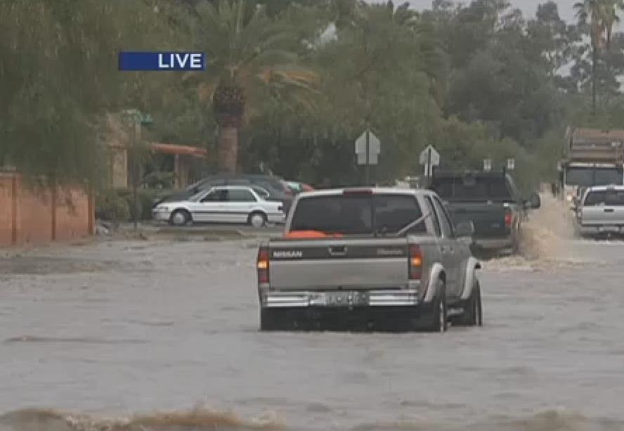 Arizona Monsoon ProbabilityChart