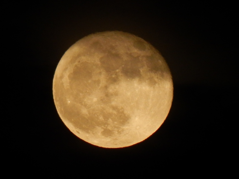 October Blood Moon