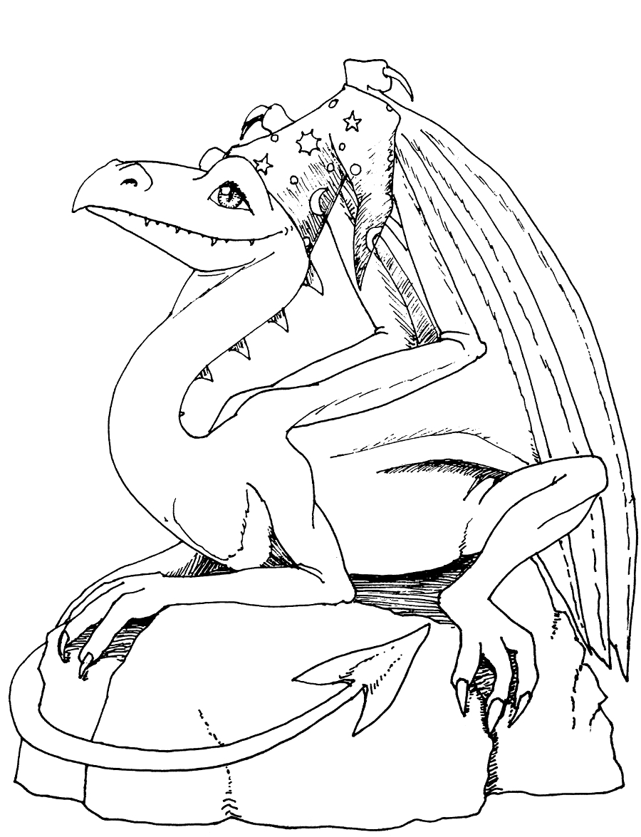 Dragon with hat 900.JPG