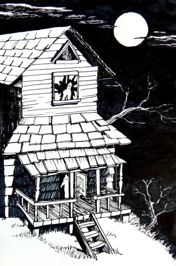 haunted house 800