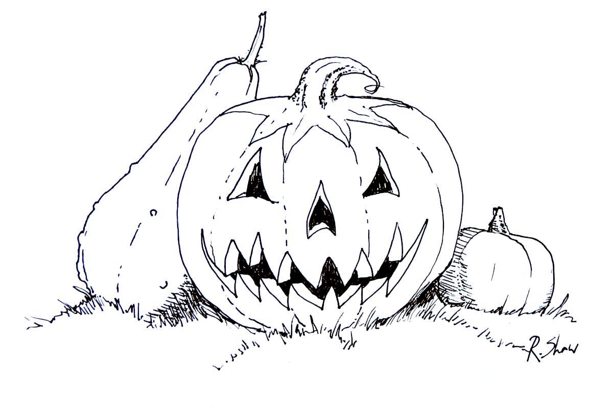 Pumpkin Face 1200