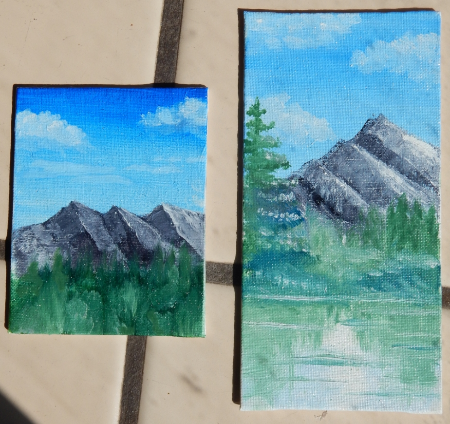 tiny paintings 1000