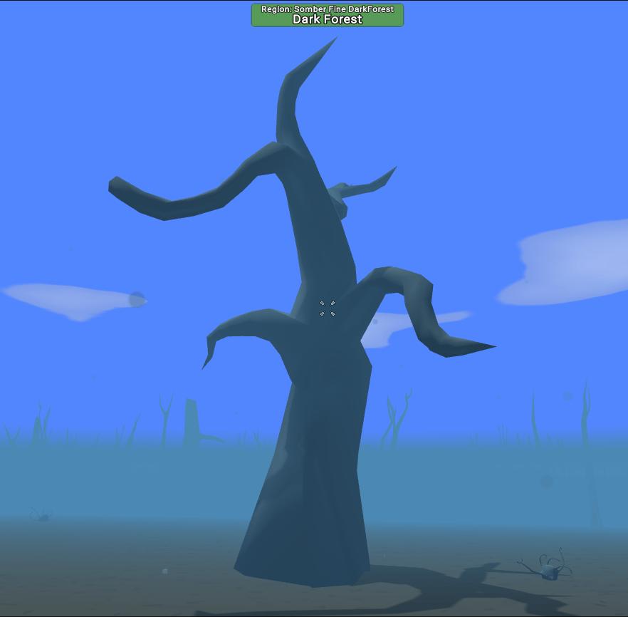 creepy tree one