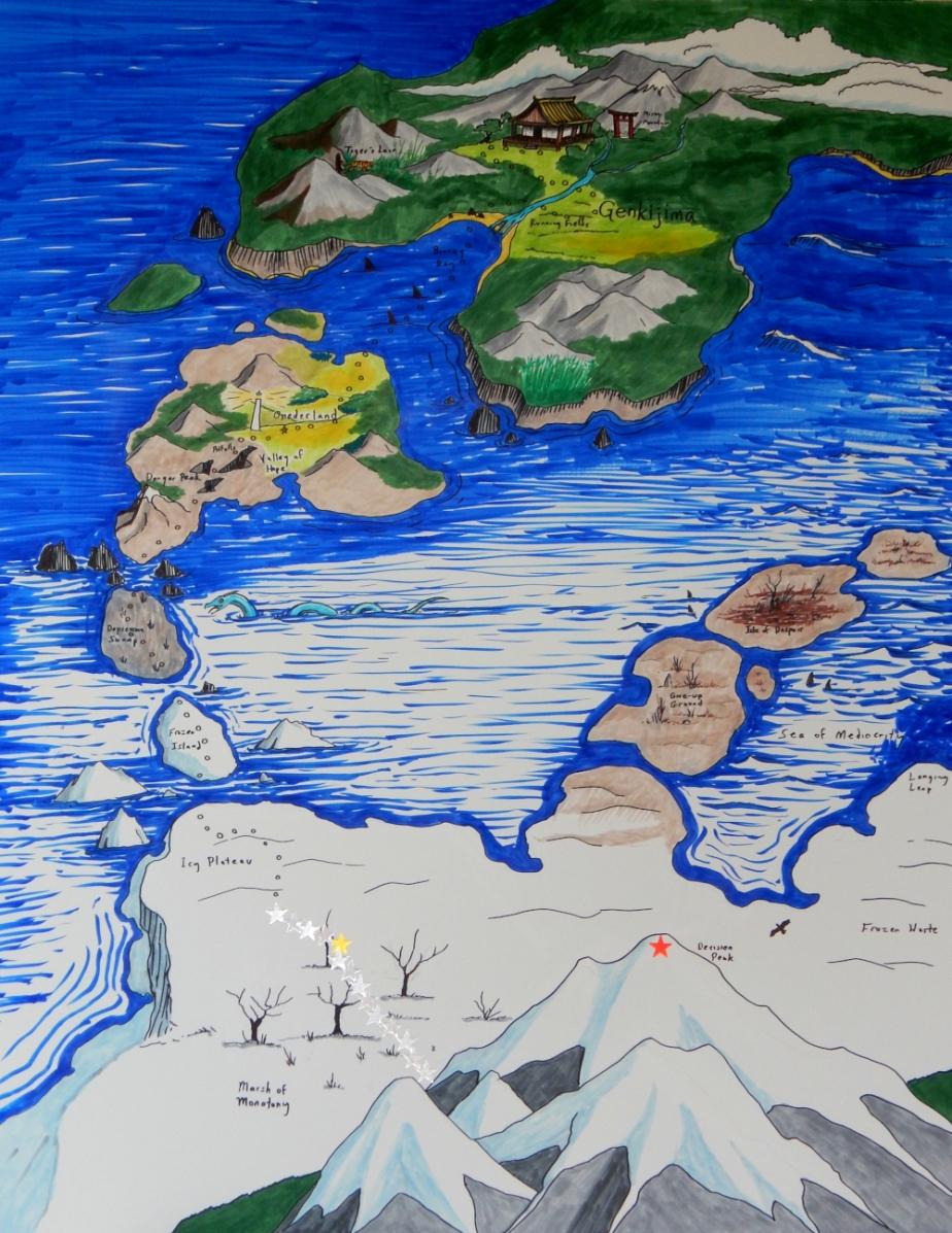 Genkijima Map 1000