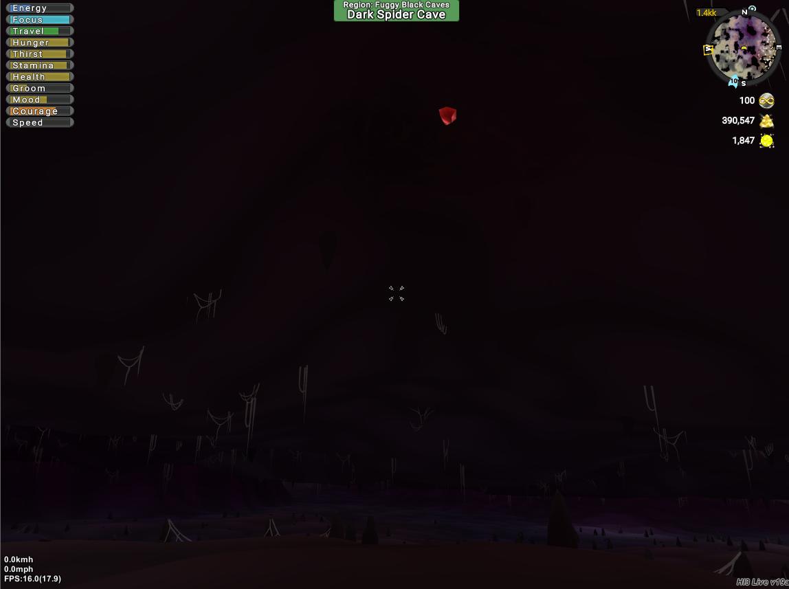 Dark Spider Cave